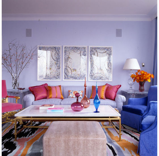 Apartment In New York Uses Vivid Colours To Create A Sense