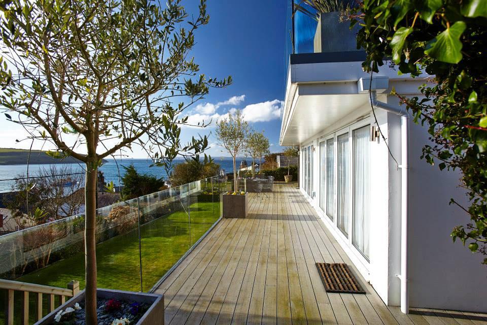 Modern Sea View Retreat in Cornwall