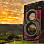 Quirky Coffee House Shaped Like A Rolleiflex Twin-Lens Camera