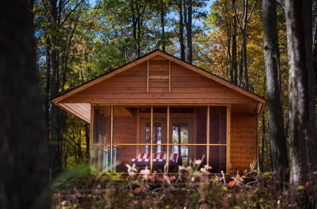 Charming tiny cabin vacation home idesignarch interior for Small cabins and cottages