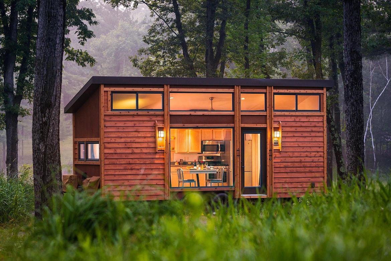modern mobile home - Tiny House Mobile 2