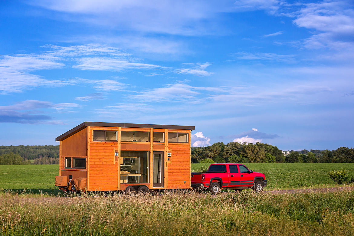 Tiny Mobile RV Home