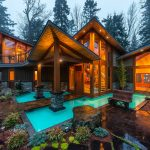 Luxury West Coast Contemporary Timber Frame Oceanfront Estate