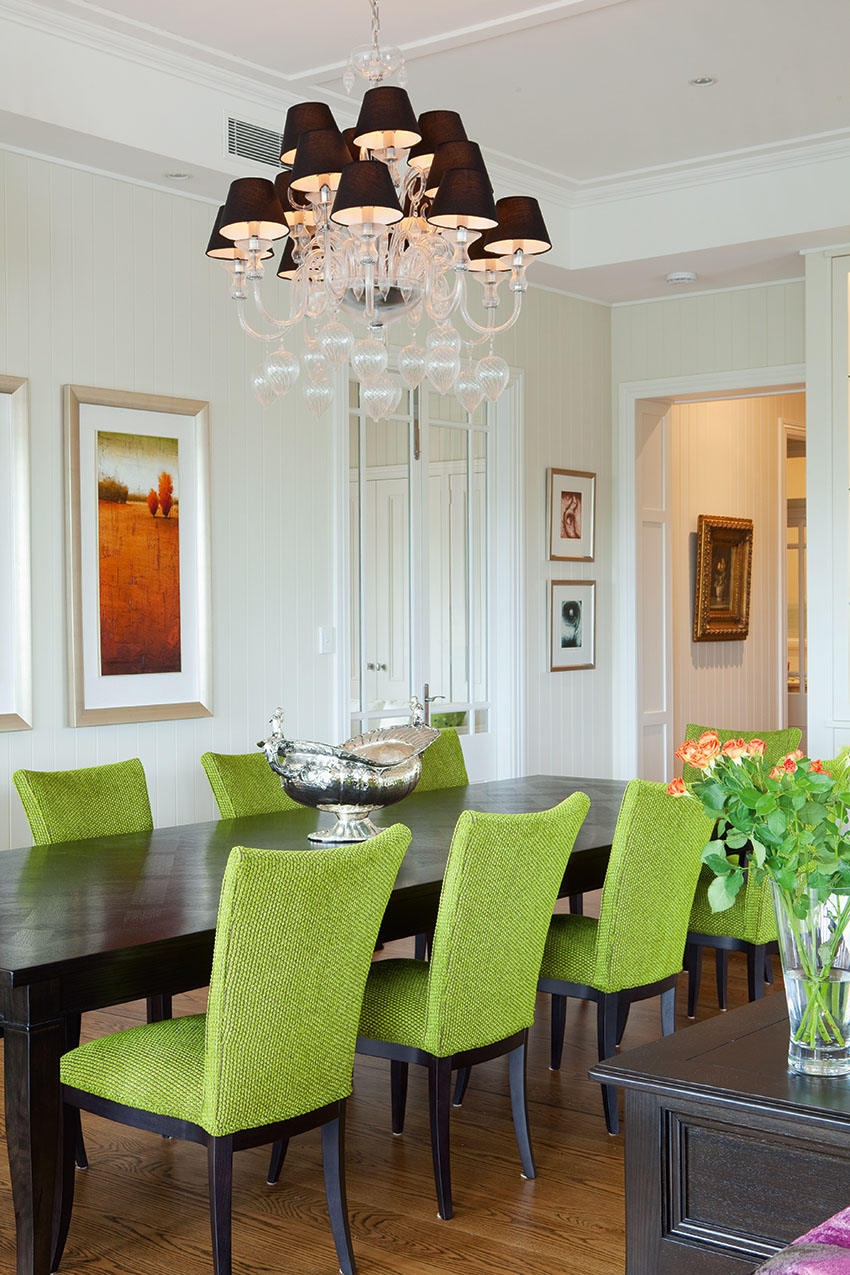 Green Dining Chairs Highlight