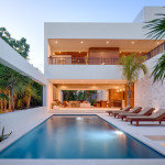 Ecoluxe Beachfront Mexican Villa With Solar Panel Covered Terrace