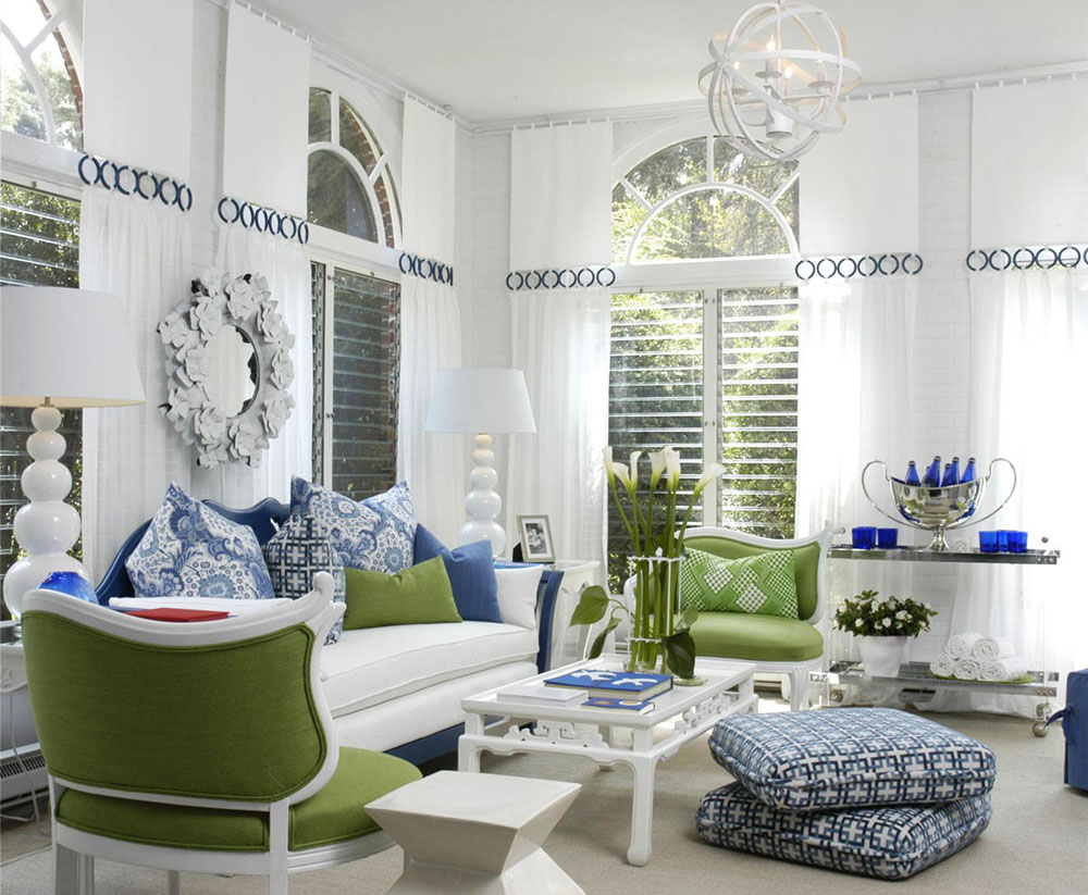 Incredible White with Blue Accent Living Room 1000 x 823 · 185 kB · jpeg