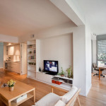Small Apartment Design In Tel-Aviv With Great Floorplan