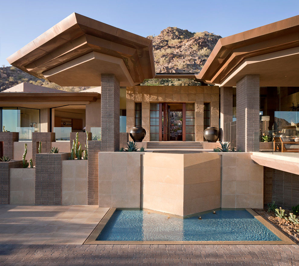 Elegant home in paradise valley idesignarch interior design architecture interior Elegant home design ideas