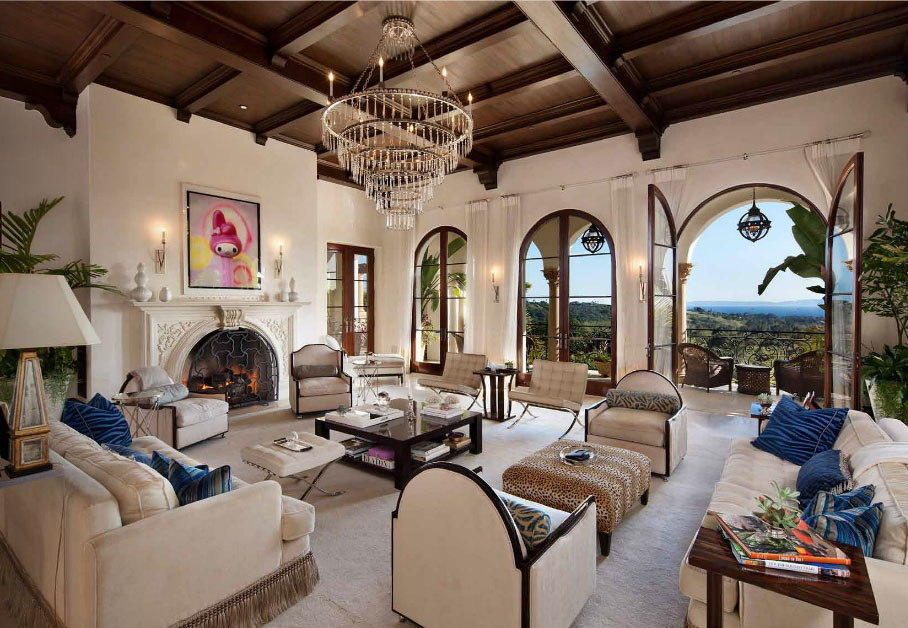 Elegant Montecito Home With Stunning Panoramas