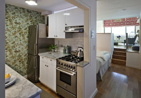Small Efficiency Apartment simple tiny studio apartment kitchen small taipei with clever