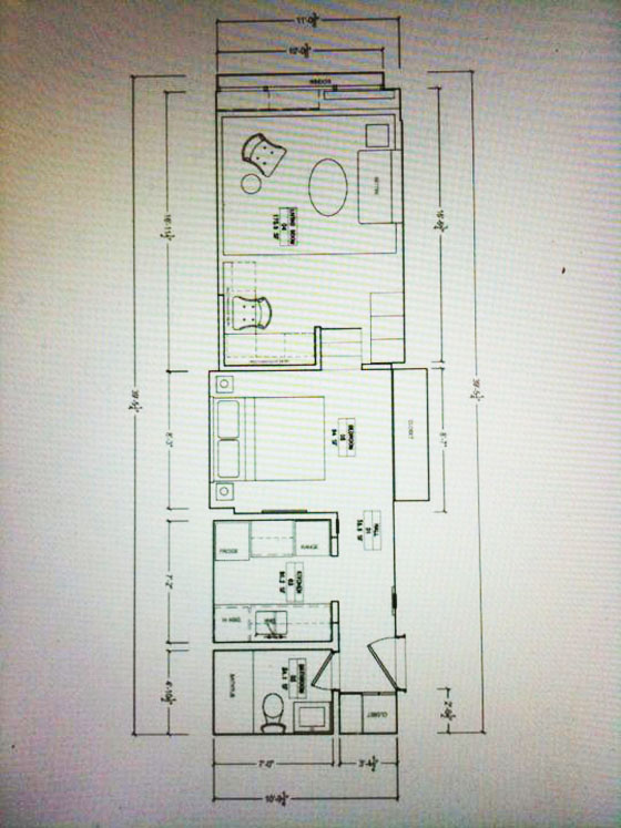 Small Studio Apartment Floor Plan