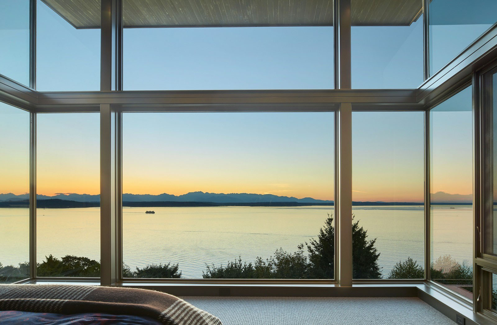 Energy Efficient Home With Sweeping Views Of Puget Sound