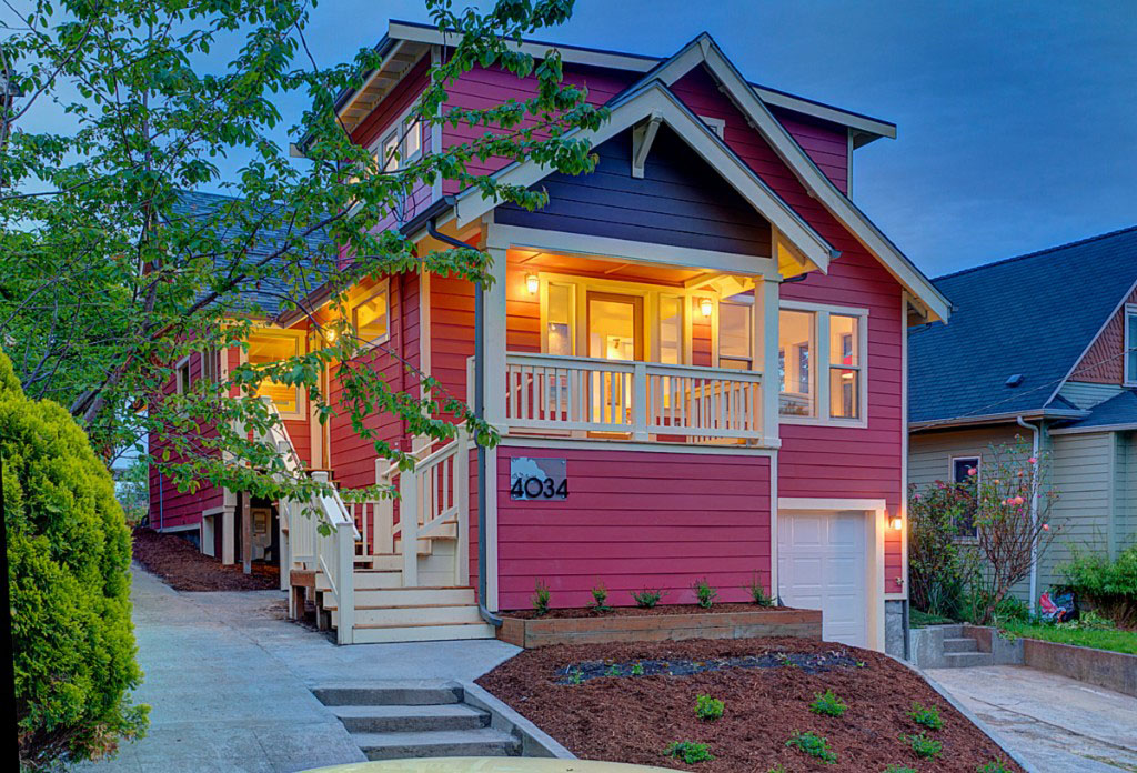 energy efficient green home in seattle