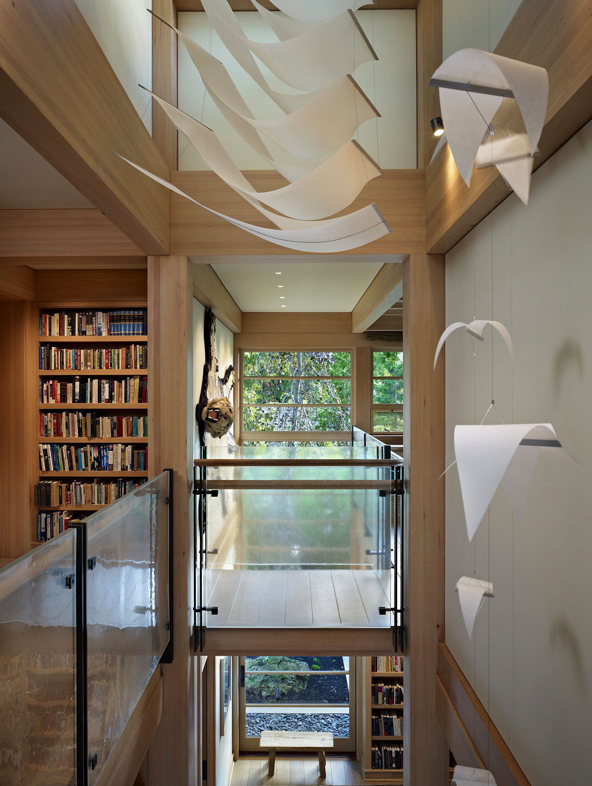 Contemporary house in seattle with japanese influence for Interior decoration and design influences