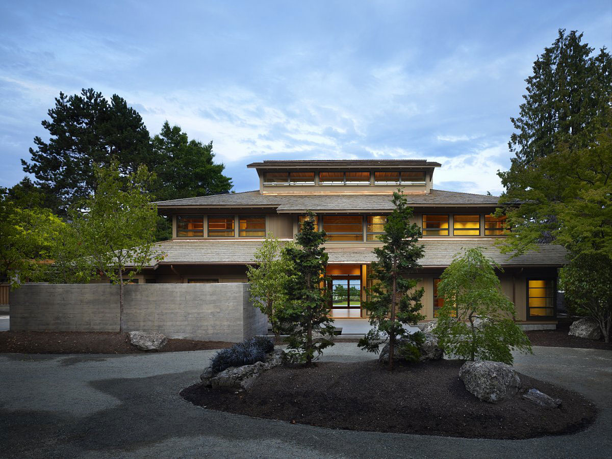 Engawa House Seattle 9 - Download Small Modern Asian House Design PNG