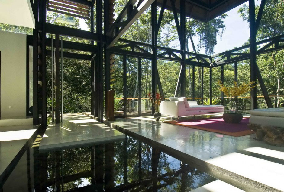 Environmentally Friendly Luxury House In Costa Rica