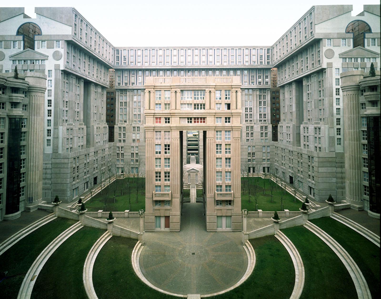 Postmodern Neoclassical Housing Estate A Theoretical Utopia