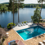 Beautiful Estate By The River With Indoor And Outdoor Swimming Pools