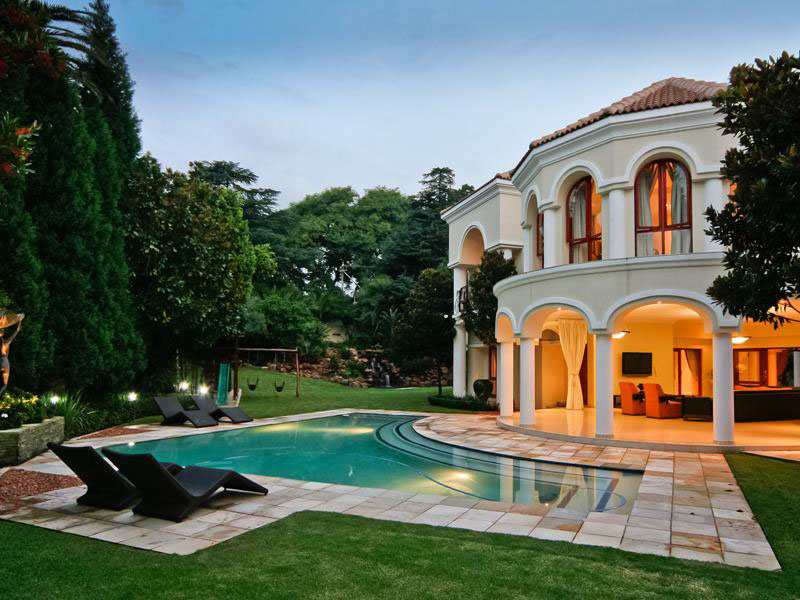 Exquisite mansion in south africa idesignarch interior for Pool design johannesburg