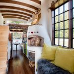 Bohemian Tiny House Constructed Using Reclaimed and Handmade Materials