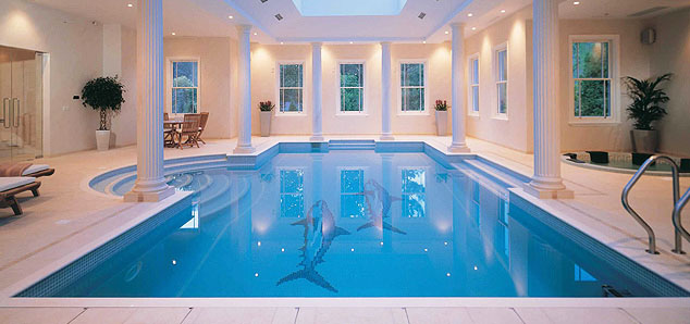 Indoor Swimming Pools With Classical Design Idesignarch