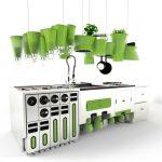 Eco-Friendly Futuristic Kitchen