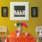 Dare To Decorate With Rich Colours
