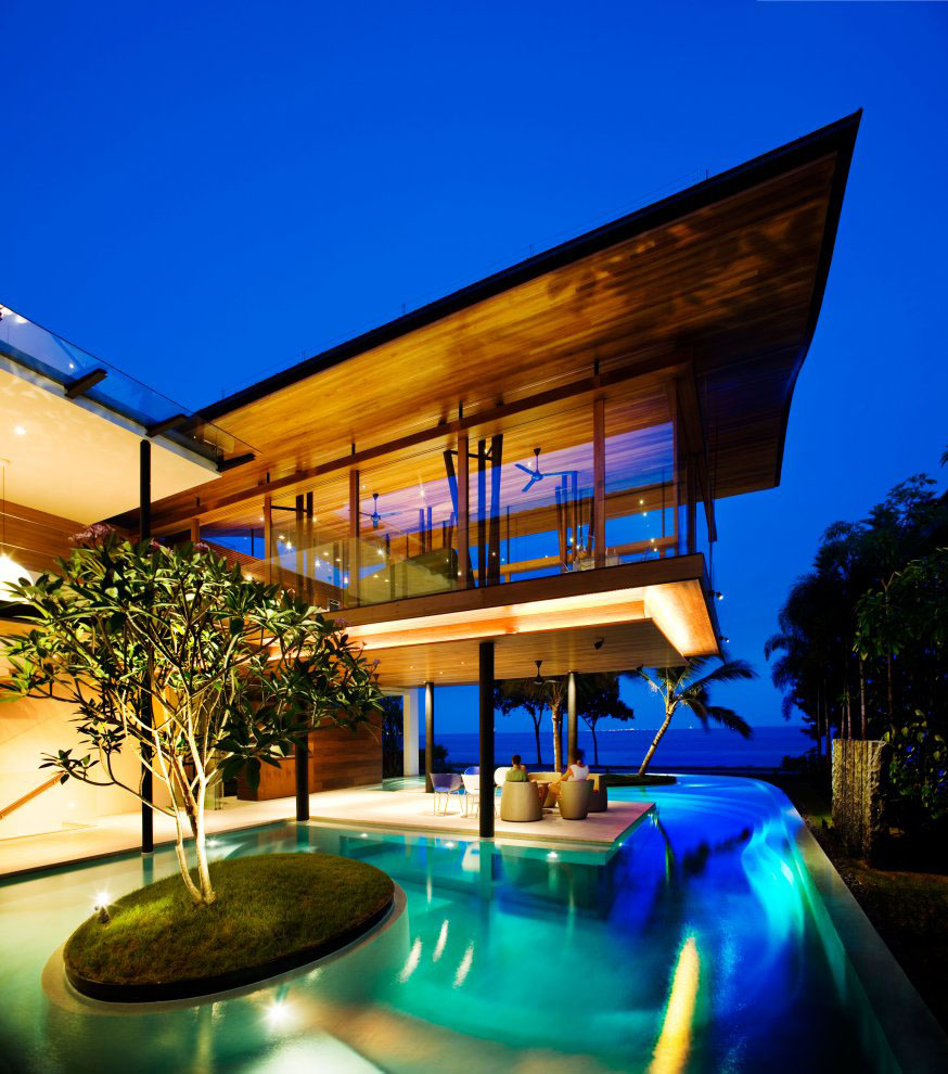nvironmentally Friendly Modern ropical House In Singapore ... - ^