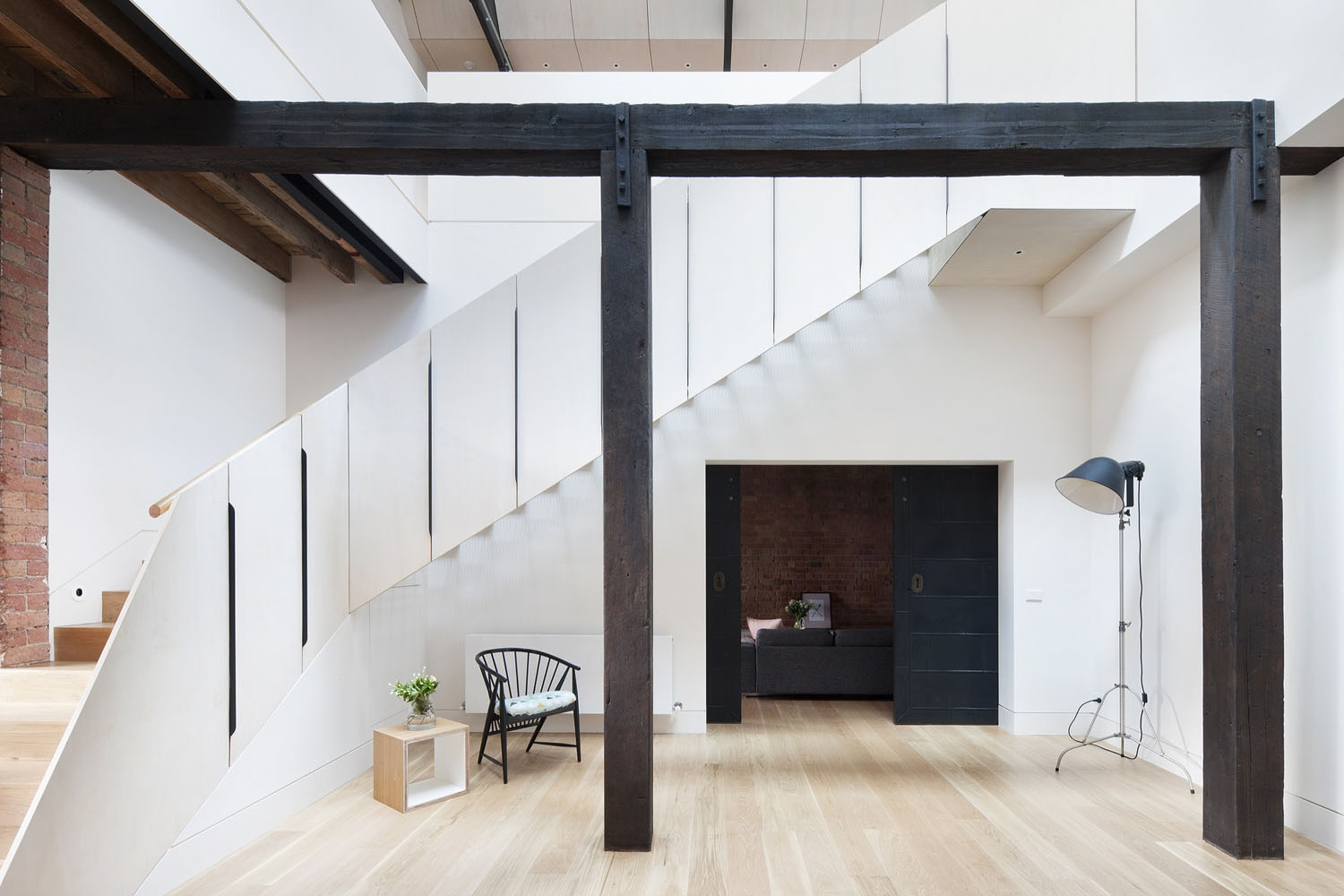 Andrew Simpson Architects transformed a late 19th century industrial  warehouse building in Fitzroy ...