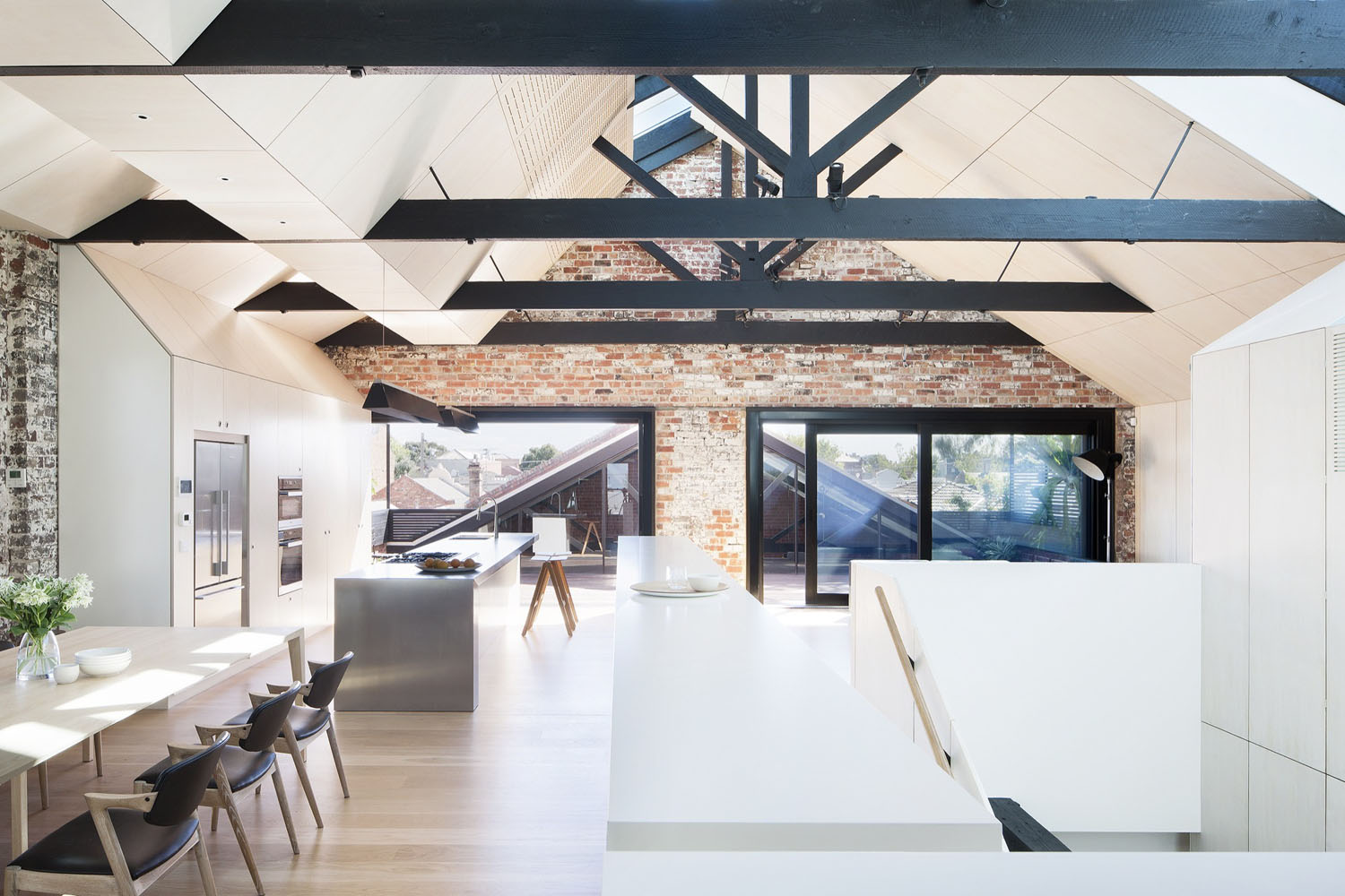 Former 19th century industrial warehouse converted into - Warehouse turned into home ...