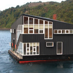 Floating House On The Sea