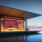 Minimalist Mobile Floating House
