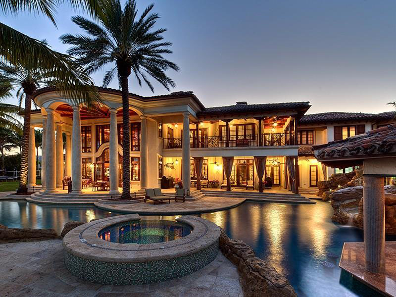 Fort lauderdale mediterranean style estate with beautiful Mediterranian homes
