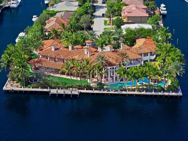 Florida Waterfront Estate
