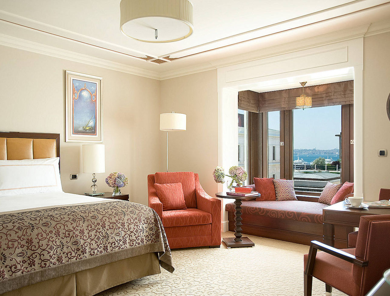 Four seasons hotel istanbul at the bosphorus idesignarch for Decor hotel istanbul