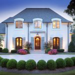 French Provincial Manor Custom Home In Nashville