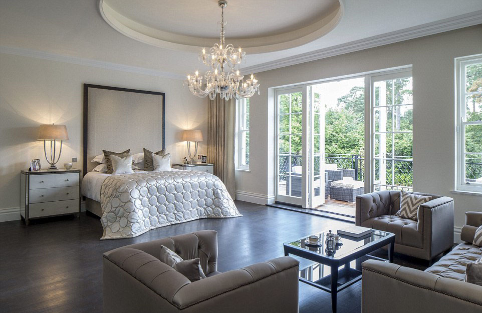 Luxury Contemporary Master Bedroom