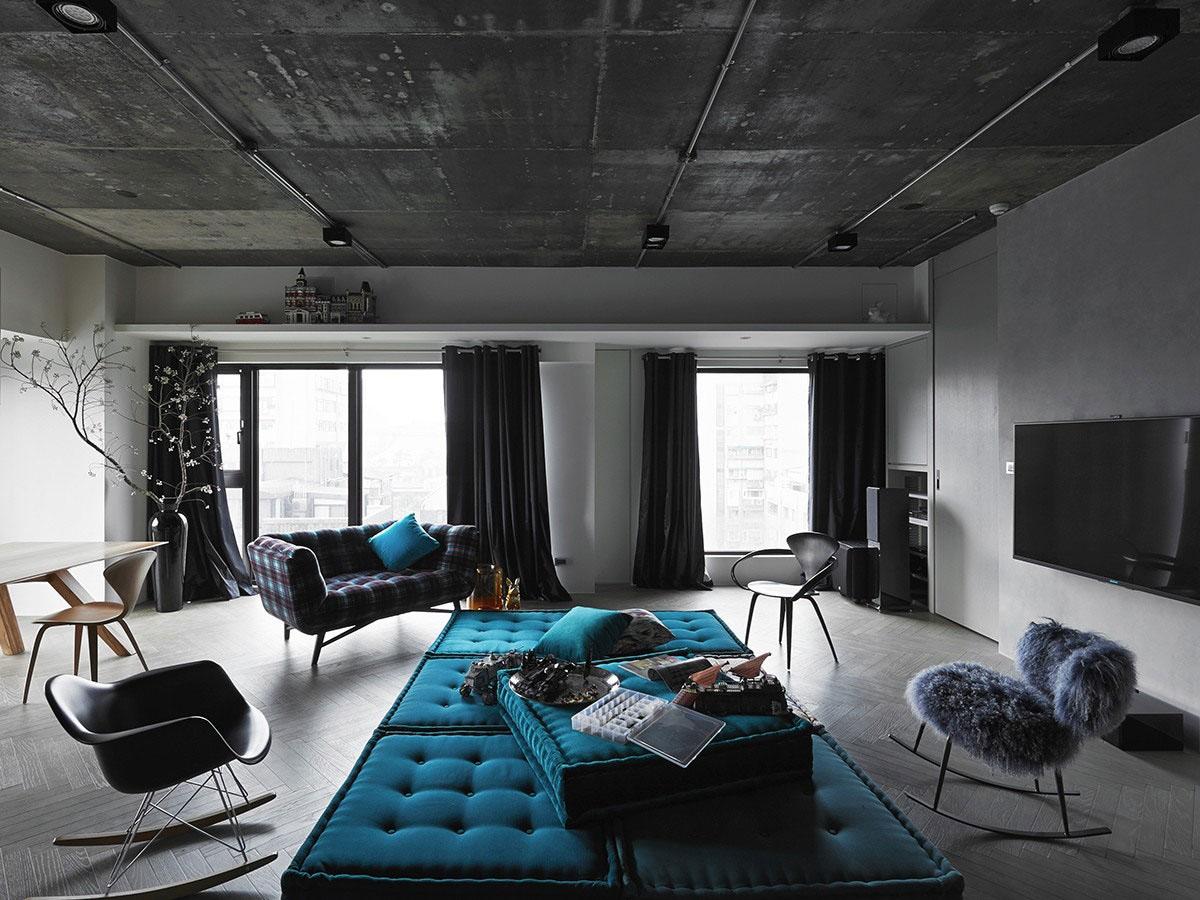 Blue Sofa Modules