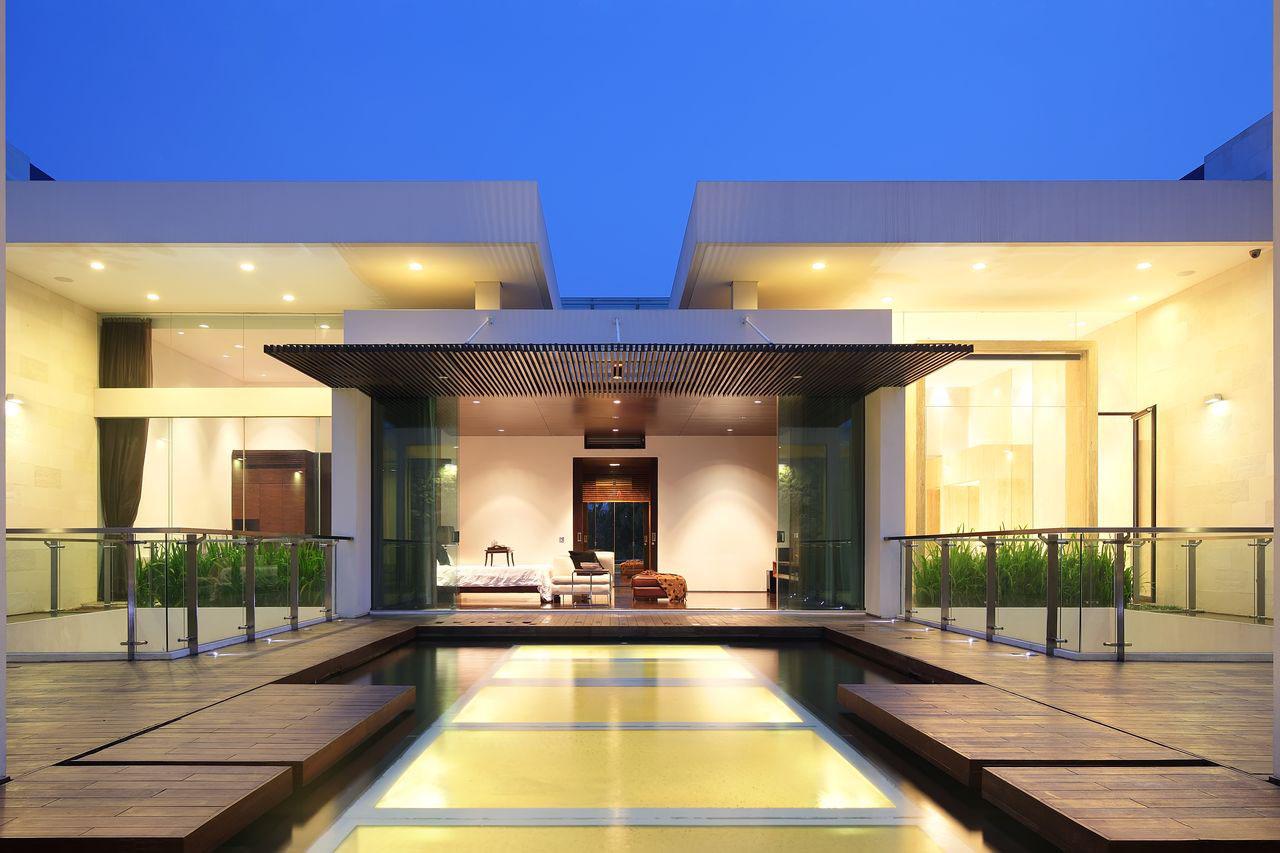 Luxury Garden House In Jakarta IDesignArch Interior Design - Modern house jakarta
