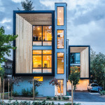Modern Prefab Modular Townhouses Designed For Urban Living