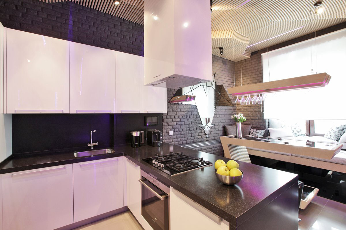 Cool Modern Kitchen Ideal For Entertaining | iDesignArch