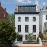 Impeccable Modern Townhouse In Georgetown With Glass Elevator