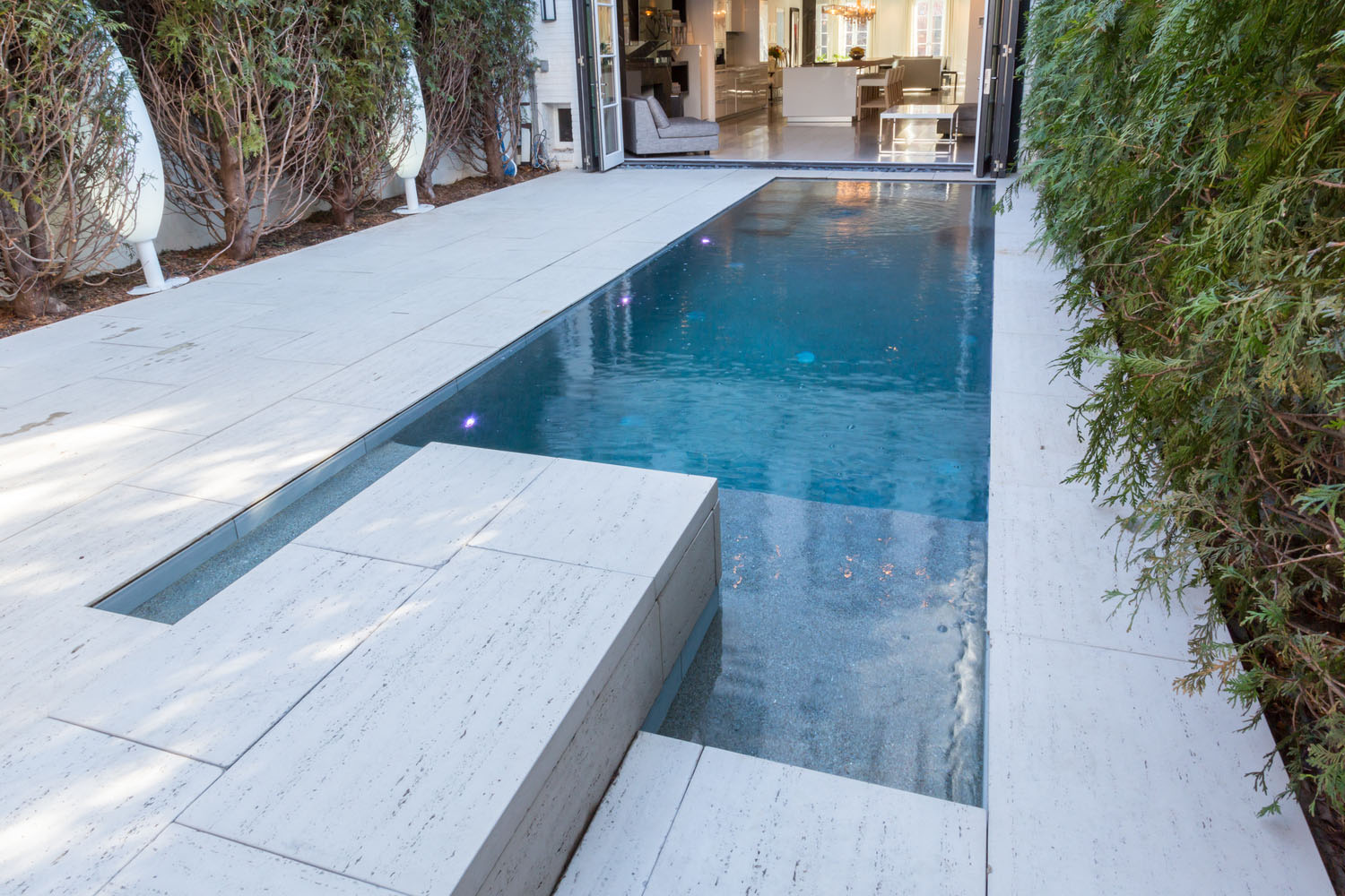 Luxury Home Courtyard Swimming Pool