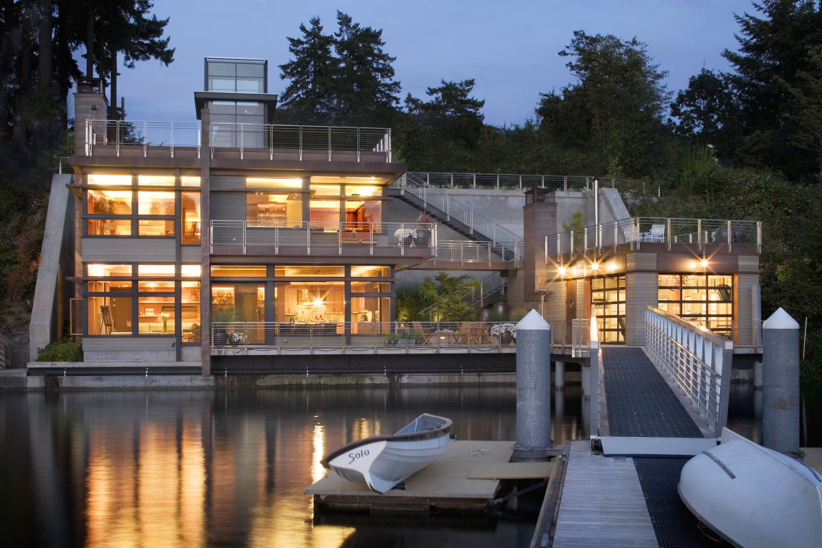 Sustainable House On The Waters Edge IDesignArch Interior Design Architecture amp