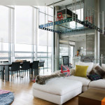 Glass Penthouse In London By The Thames