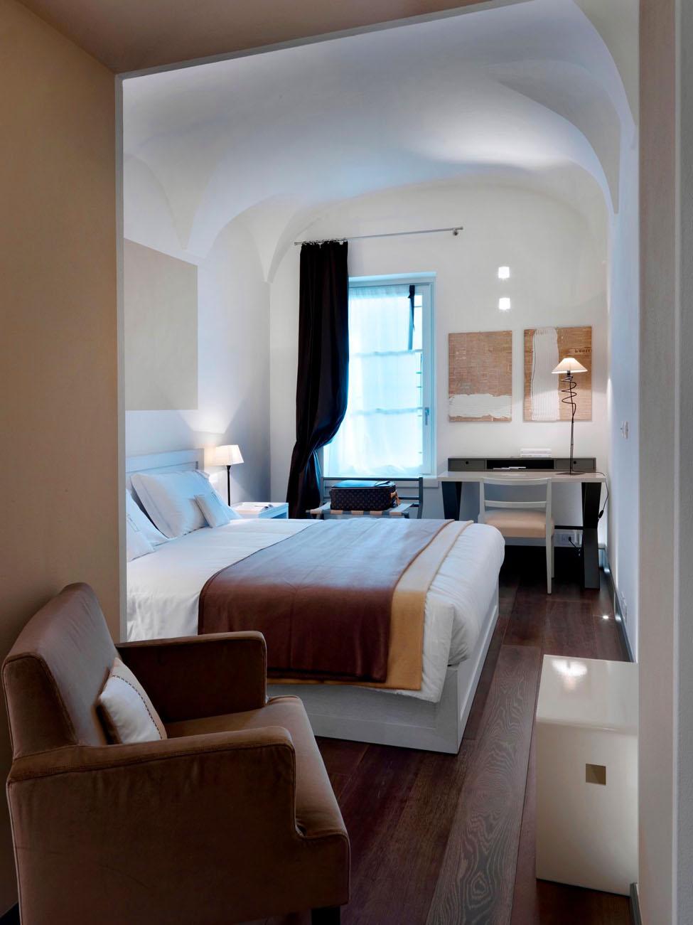 Gombithotel contemporary design in medieval city idesignarch interior design architecture - Interior design bergamo ...