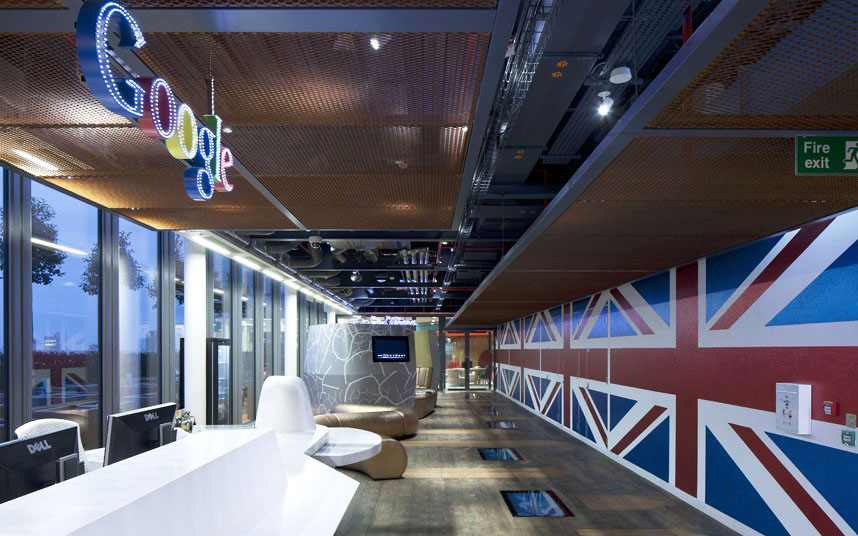 office interior designers london. inside the quirky google london office interior designers c