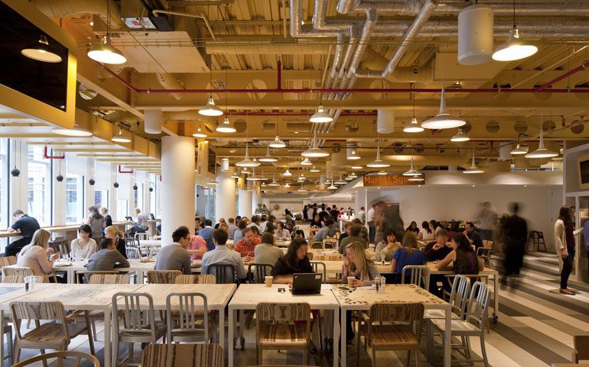 Google-Caferteria-London