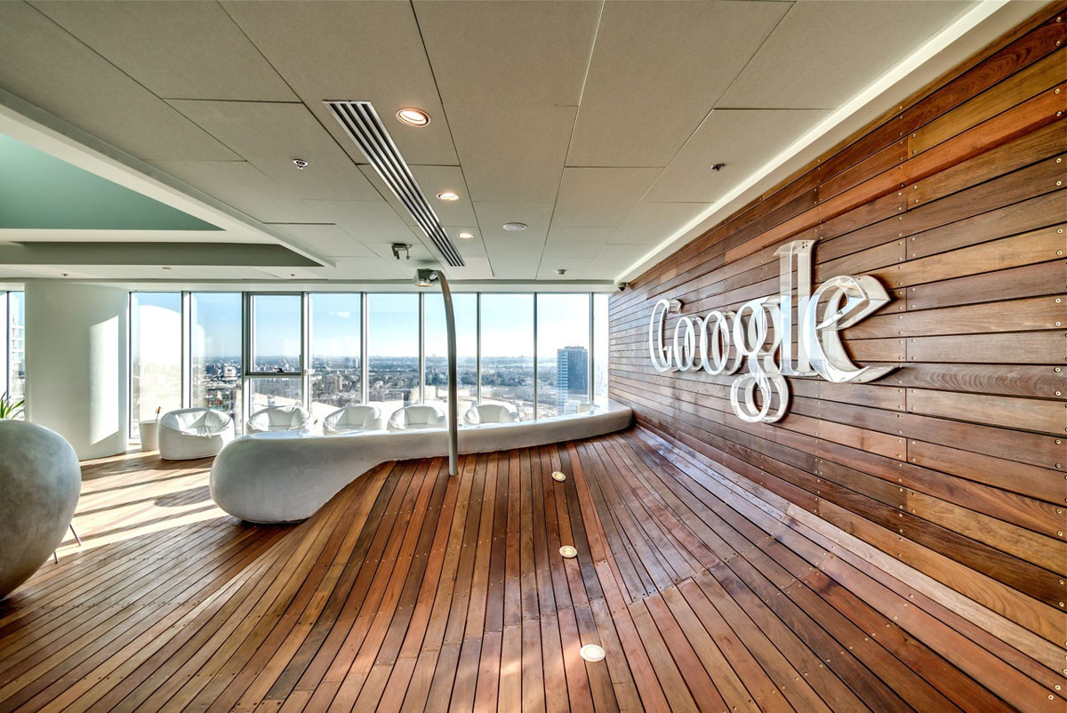 Google tel aviv office interiors idesignarch interior for Kantoor interieur