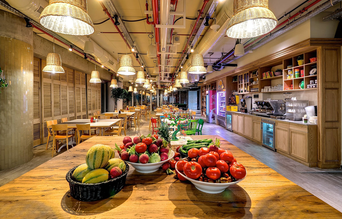 Google Office Restaurant